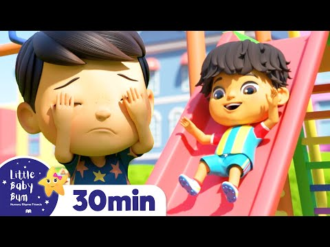 The Playground Song! | +More Nursery Rhymes & Kids Songs | ABCs and 123s | Little Baby Bum