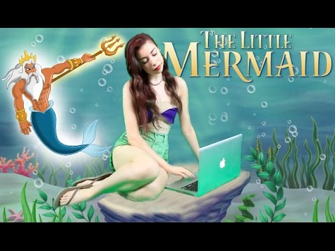 little mermaid - DIY Modern Day Little Mermaid Halloween Costume! CAN WE GET THIS 10000+ LIKES?!?! I'm DM'ing people who click➜ http://ctt.ec/3QWUM My Previous Video➜ http://bit.ly/1sXCnYB COLLAB ...
