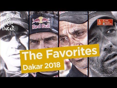 The favorites - Dakar 2018