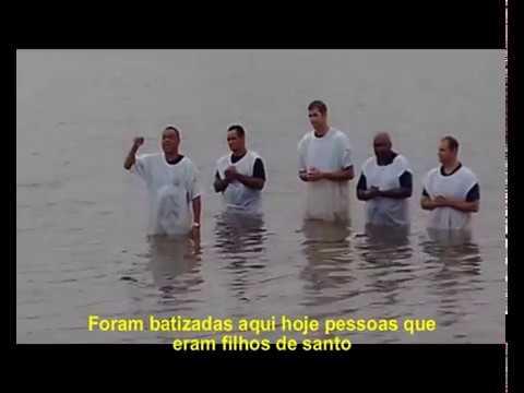 O Batismo nas Águas