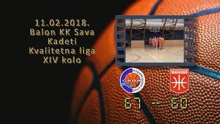 kk sava kk žarkovo 67 60 (kadeti, 11 2 2018 ) košarkaški klub sava
