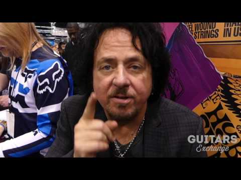 STEVE LUKATHER (Toto) Shout Out to Guitars Exchange Fans (NAMM Show 2017)