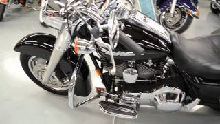 10. 2006 Harley Davidson Road King Custom in Vivid Black