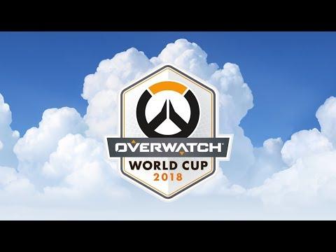 Overwatch World Cup Thailand 2018 - Day 2