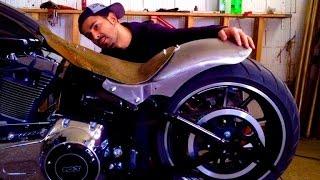 9. Harley Davidson Softail Breakout FXSB Customizing 2013-2015