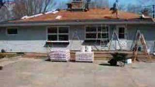 Roofing  A House in 7 Seconds