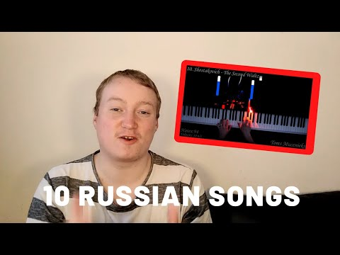 10 Russian Songs You've Heard But Don't Know The Name - Reaction!