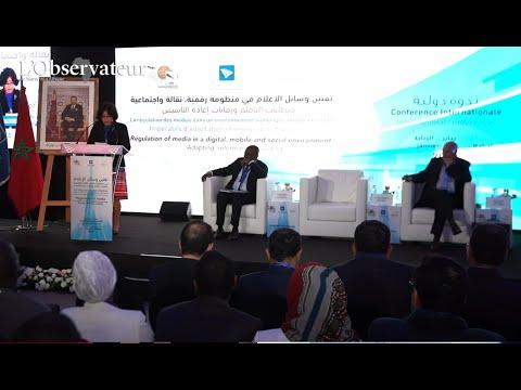 Discours d'ouverture de Latifa Akharbach - régulation des médias à l'ère du numérique