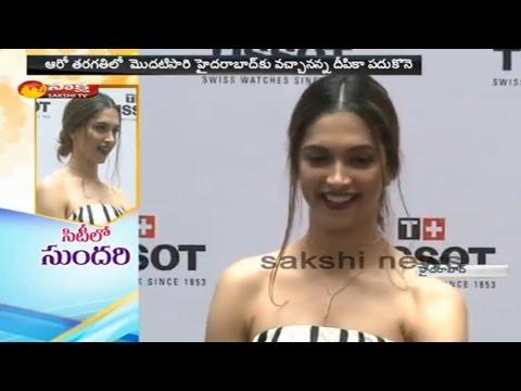 Actress Deepika Padukone Hulchul in Hyderabad - Watch Exclusive