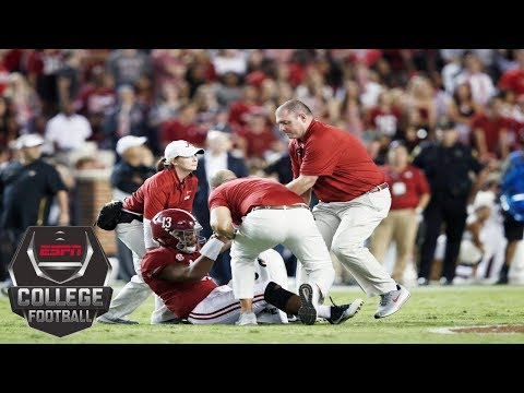 Tua Tagovailoa Exits With Injury, Alabama Still Tops Missouri 39-10 | College Football Highlights