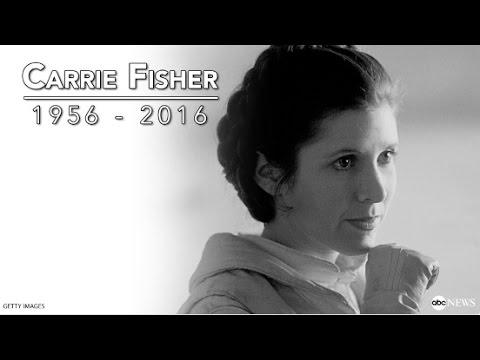 """Nie żyje Carrie Fisher - księżniczka Leia z """"Gwiezdnych wojen"""""""