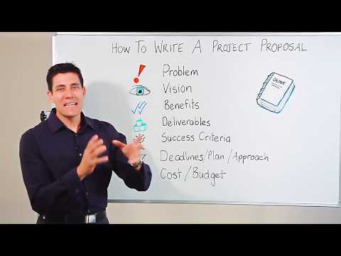 how to write proposals for projects