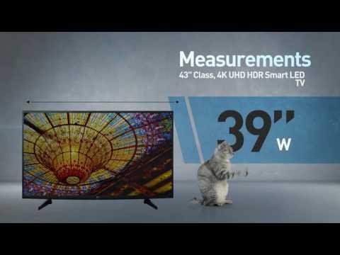 LG 43UH6100 4K UHD HDR Smart LED TV // Full Specs Review  #LGTV
