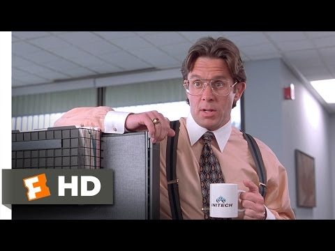 Office Space (1/5) Movie CLIP - Did You Get The Memo? (1999) HD