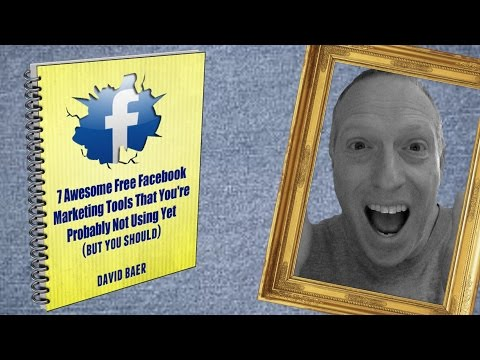 Free Facebook Marketing Tools – A Preview