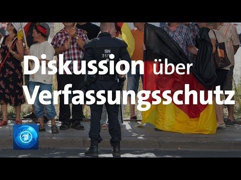 Pegida in Dresden: Beobachtung durch Verfassungsschutz wird diskutiert
