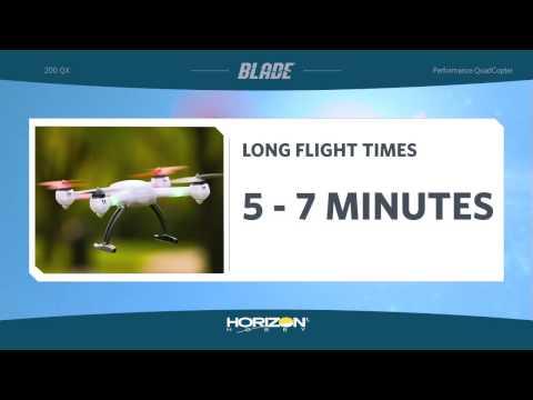 видео: Квадрокоптер Blade 200 QX (технология SAFE)
