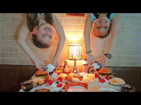 Москва для детей. Ксюша и Настя (Капуки): Перевёрнутый Город на ВДНХ. Выходные с детьми в Москве. (видео)