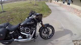 6. 2018 Harley Davidson Sport Glide ride review at Dillon Brothers Harley Davidson