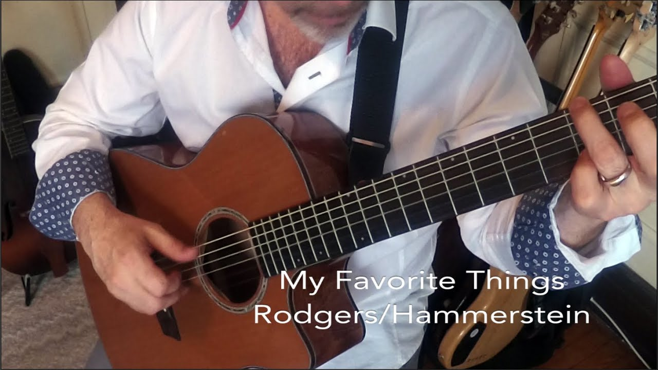 My Favorite Things – Fingerstyle Acoustic Guitar Cover by Sean Harkness