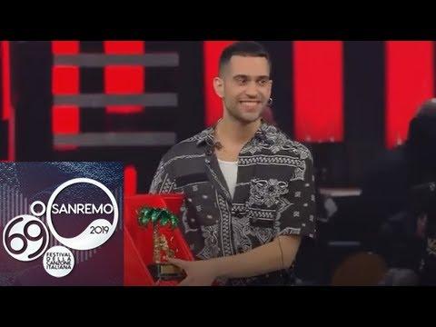 На конкурсе в Сан-Ремо победил Махмуд (видео)