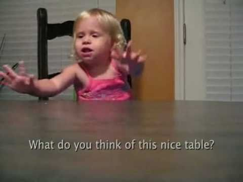 topics - A Funny Pics video of a baby that is discussing very important topics. This video is a production of Josh Janicek. This baby is talking in her own language, ...