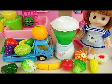 Baby Doli And Fruit Vegetable Juice Maker Toys Baby Doll Play