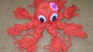 How to make a Japanese yarn octopus - EP - YouTube