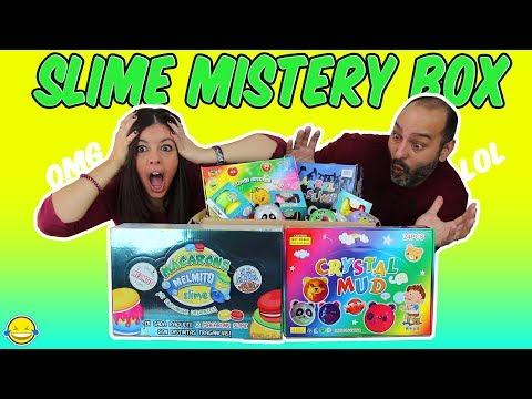 SLIME MISTERY BOX!! Compramos una caja llena de slimes diferentes!! Momentos Divertidos