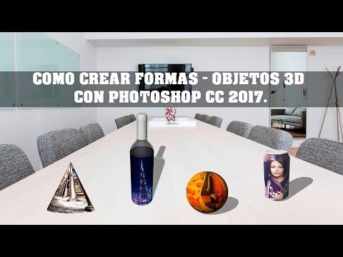 , title : 'COMO CREAR FORMAS - OBJETOS 3D CON PHOTOSHOP CC 2017'