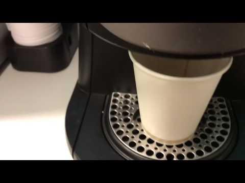 How to use Flavia coffee machine at work