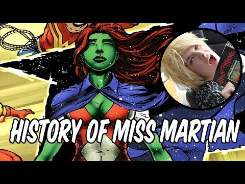 Martian - Today on the show, Faust talks about the History of Miss Martian. If you didn't know that not only does she grow up to become Martian Manhunter, she also bec...
