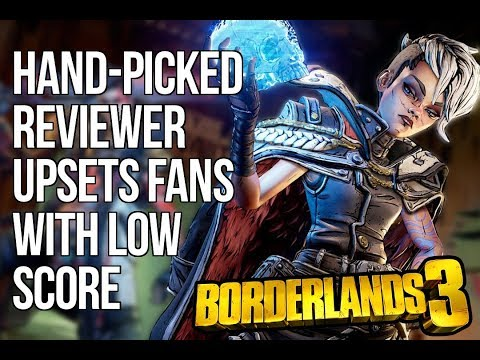 Borderlands 3 Fans Attack For Low Review Score Even After 2K Cherry Pick Reviewers