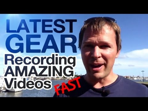 Vlogger Alert!  Great Gear for Recording AMAZING VIDEOS Fast!