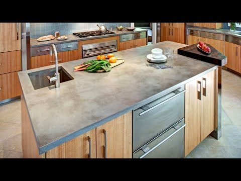 28 Concrete Countertop Ideas