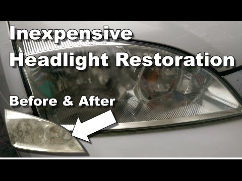 Permanent Foggy Headlight Repair - How To