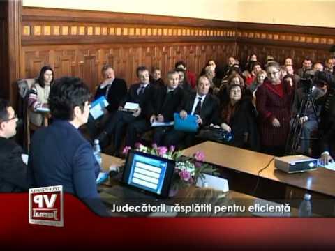 Judecătorii, răsplătiţi pentru eficienţă