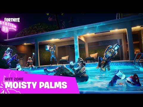 Fortnite - Rift Zone - Moisty Palms