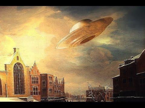 gli ufo nella storia dell'arte