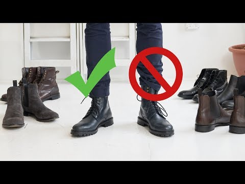 How To Style Boots This Fall | Men's Chelsea, Combat And Dress Boot Inspiration