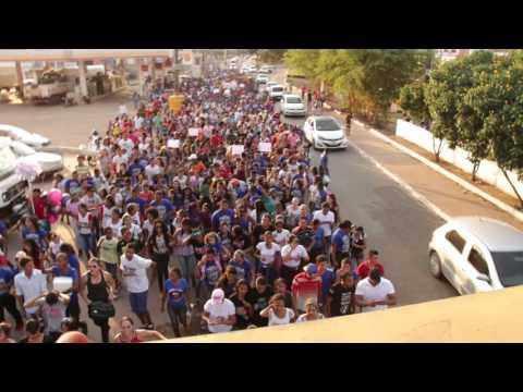 1ª MARCHA PROFÉTICA EM MARABÁ - Mais de 4 mil pessoas declaram fé em Jesus, família e na igreja
