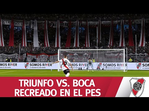 TRIUNFO VS. BOCA RECREADO EN EL PES