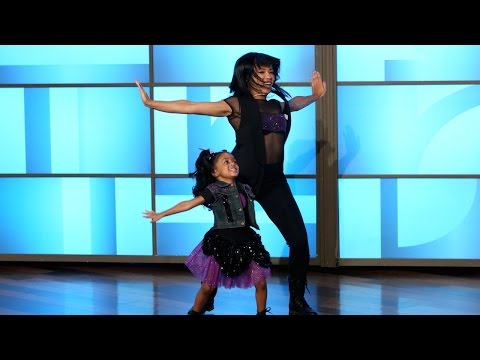heaven - She's one of the best 4-year-old dancers the world has ever seen, and she was back to deliver more!