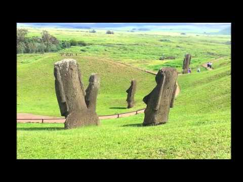 Ilha da Páscoa - Viagem à mágica Ilha de Páscoa na Páscoa de 2013. Parte 1 de 3. Hanga Roa, Vaihú / Hanga Te'e, Akahanga, Parque Nacional Rapa Nui, Rano Raraku, Tongariki, Te...