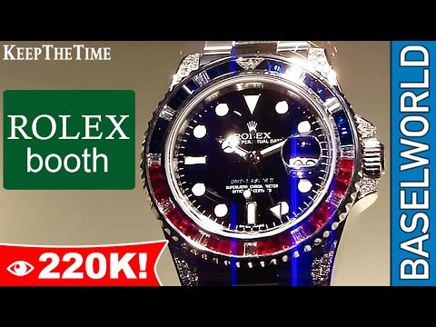 keepthetime - http://www.KeepTheTime.com Here are some of the new Rolex pieces that were released at Baselworld 2010. You can see the new green dial Submariner (116610), a...