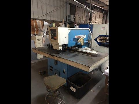 Punching Machine EUROMAC CX 75030 CNC 2002