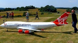 Video BOEING 747-400 VIRGIN ATLANTIC GIGANTIC RC AIRLINER MODEL JET FLIGHT / Airliner Meeting Airshow 2015 MP3, 3GP, MP4, WEBM, AVI, FLV Agustus 2018