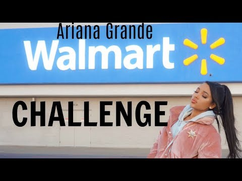 the Ariana Grande walmart challenge (i  got kicked out)