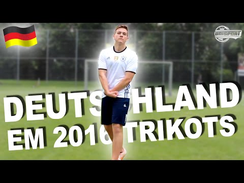 GERMANY JERSEYS (Home & Away) AUTHENTIC / Adizero - Test and Review - EURO 2016 Official Kit