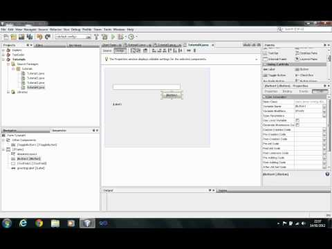 JAVA Tutorial – GUI Part 1: Layouts and Controls – Session 9